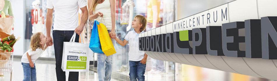 Winkelen in Eudokiaplein