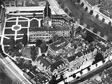 Luchtfoto Oude Eudokiaplein