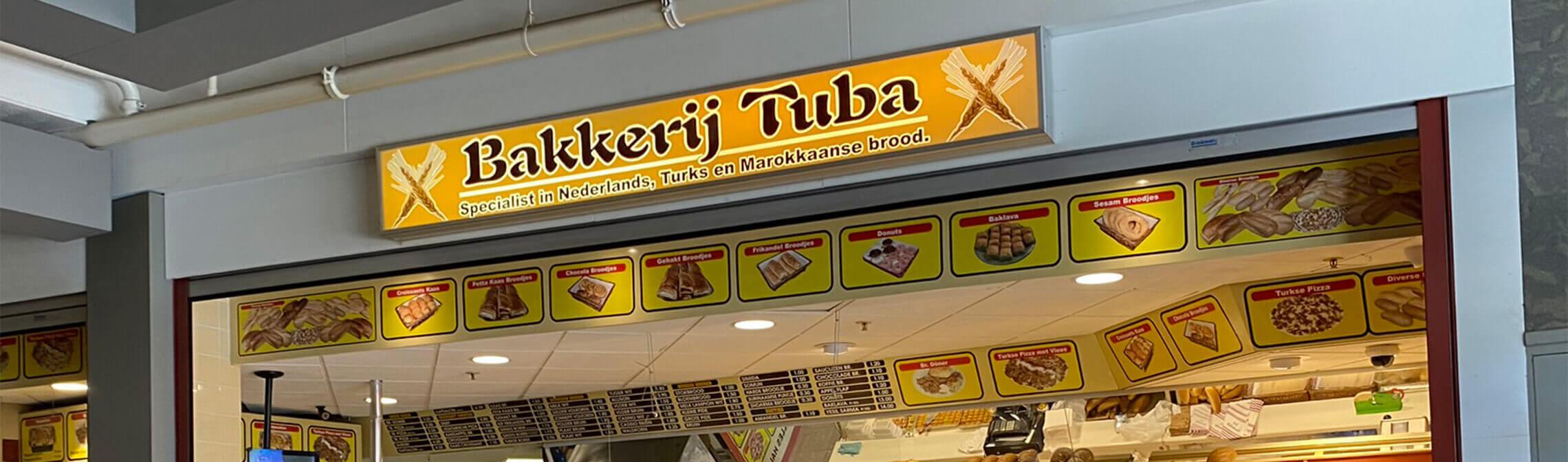 Bakkerij Tuba Header